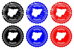 Free Nigeria Rubber Stamp Stock Images - 117460984