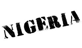 Nigeria-Stempelgummischmutz Stockbild