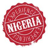 Nigeria-Stempelgummischmutz Lizenzfreie Stockbilder