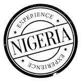 Nigeria-Stempelgummischmutz Lizenzfreies Stockbild