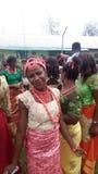 Nigeria styl Zdjęcia Royalty Free