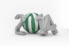 Nigeria world cup 2014 Royalty Free Stock Photography