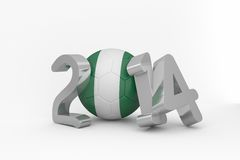 Nigeria world cup 2014 Stock Images