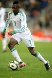 Nigeriaanse speler Ahmed Musa Stock Fotografie