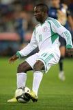 Nigeriaanse speler Ejike Uzoenyi royalty-vrije stock foto's