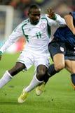 Nigeriaanse speler Ejike Uzoenyi stock foto