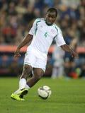 Nigeriaanse speler Fegor Ogude royalty-vrije stock foto
