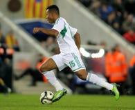 Nigeriaanse speler Ikechukwu Uche royalty-vrije stock afbeelding