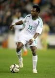 Nigeriaanse speler Ogenyi Onazi royalty-vrije stock afbeeldingen