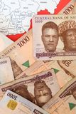 Nigerian Currency Royalty Free Stock Images