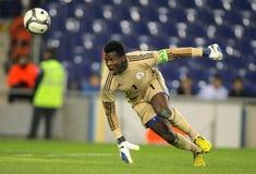 Nigerian goalkeeper Chigozie Agbim Stock Image