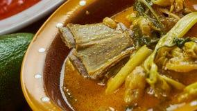 Nigerian Ora-Suppe lizenzfreie stockfotos
