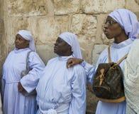 Nigerian pilgrims Stock Photos