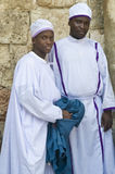 Nigerian pilgrims Royalty Free Stock Images