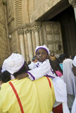 Nigerian pilgrims Stock Photo