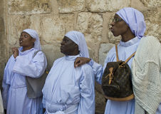 Nigerian pilgrims Stock Photography