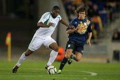 Nigerian player Bright Dike Stock Photos