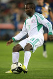 Nigerian player Ejike Uzoenyi Royalty Free Stock Photos
