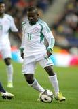 Nigerian player Ejike Uzoenyi Stock Photography