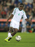 Nigerian player Fegor Ogude Royalty Free Stock Photo