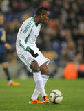 Nigerian player Godfrey Oboabona Royalty Free Stock Photos
