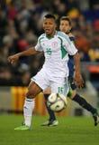 Nigerian player Ikechukwu Uche Royalty Free Stock Photography