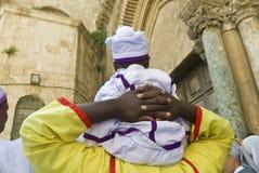nigerianskt vallfärdar Fotografering för Bildbyråer