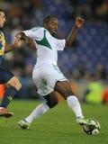 Nigeryjski gracz Niedziela Mba zdjęcie royalty free