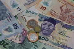 Nigeryjski pieniądze zdjęcie stock