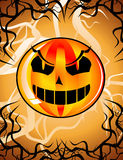 Nigh of Halloween Background Stock Image