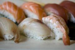 Nighiri-Sushi Royalty Free Stock Photo