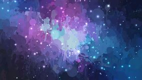 Night abstract sky brush strokes background. Vector version Royalty Free Stock Images