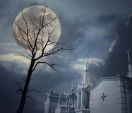 Night of all fears royalty free stock photo