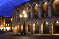 Night at the Arena in Verona Royalty Free Stock Photo
