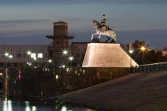 Night Astana Royalty Free Stock Photography