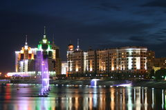 Night Astana Royalty Free Stock Images