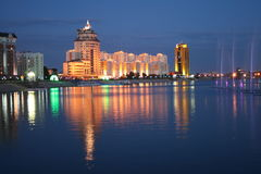 Night Astana Royalty Free Stock Image