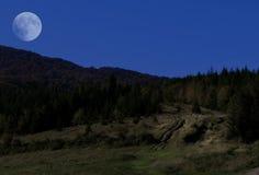 Night autumn landscape Royalty Free Stock Images