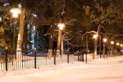 Night avenues Stock Photos