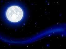 Night background Royalty Free Stock Images