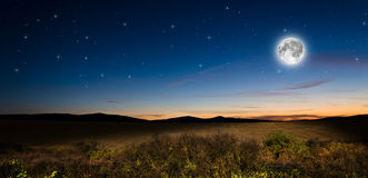 Night background Royalty Free Stock Photography