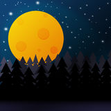 Night background Stock Images