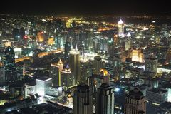 Night Bangkok Royalty Free Stock Images