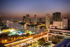 Night in Bangkok Stock Photography