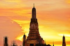 Night in Bangkok Royalty Free Stock Photography
