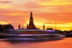 Night in Bangkok Royalty Free Stock Photos