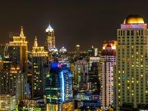 Night in Bangkok Thailand Stock Photo