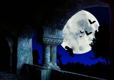 Night with bats Royalty Free Stock Photos
