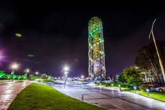 Night Batumi Stock Photos