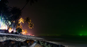 Night beach Royalty Free Stock Images